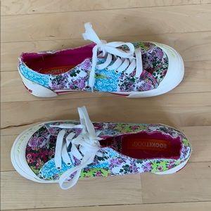 Rocket dog floral sneakers